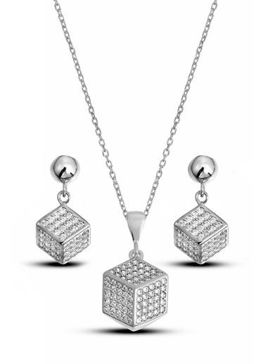 Argentum Concept Gümüş Küp Set - S016502 Gümüş